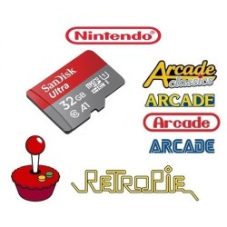 NINTENDO 32GB Retropie Card...